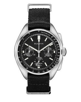 Bulova 96A225 Lunar Special Edition Pilot Chronograph Watch BRAND NEW 2019