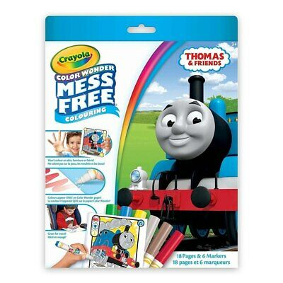 NEW Thomas and Friends Colour Wonder Mess Free Kit from Purple Turtle Toys
