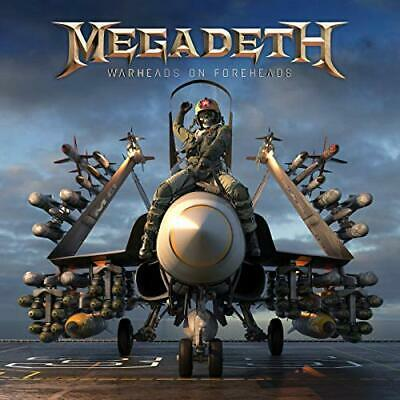 Megadeth Cd - Warheads On Foreheads [3 Discs](2019) - New Unopened - Rock Metal