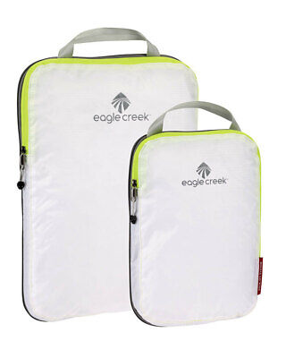 Eagle Creek Pack-It Specter Compression Cube Packing Cell Set - White/Strobe