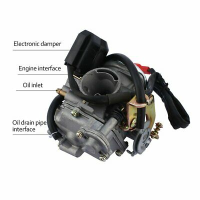 18mm GY6 50cc/60cc Scooter Moped PD18J CVK Carburetor Carb Engine Moped☼~♌
