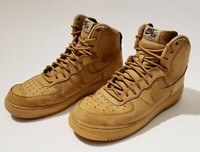 detailed pictures 698a3 998f7 Nike Air Force 1 High 07 Lv8 WB 882096-200 Flax Wheat DS