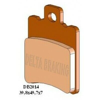 Delta Semi Front Brake Pads  for YAMAHA CS 50 Z (Jog RR)  50cc 3>5 M1  DB2014