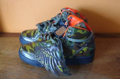 sale retailer 651a9 b991a ADIDAS ObyO Jeremy Scott Wings Camo 5.5US P38 NEW Originals