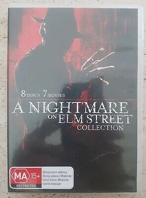 A Nightmare On Elm Street (DVD, 2017, 8-Disc Set)
