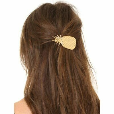 Women Girls Pineapple Hair Clip Pin Barrette Ponytail Holder Accessories Hairpin