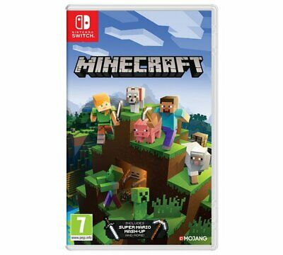 Minecraft Nintendo Switch Game With Enjoy Listening To The Smooth Sounds NEW_UK