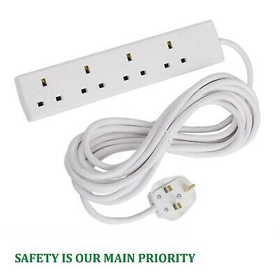 Gang Way UK 13A Trailing Socket Mains Power Extension Leads