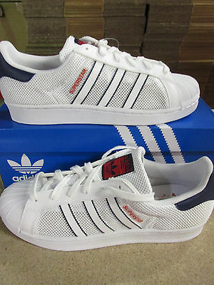 factory authentic 63224 b63ff Adidas Originali Superstar Scarpe Sportive Uomo Bb5393 Scarpe da Tennis