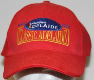 Collectible Classic Adelaide 2002 Embroidered Peaked Hat/Cap