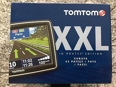 "Tomtom Xxl Iq Routes ""Edition"" Europe Navigationssystem+Air Vent Mount Kit Ovp!!"