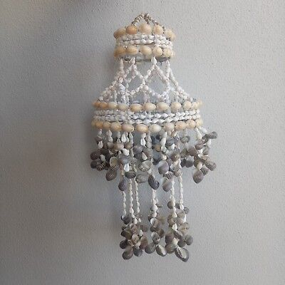 SALE!! 35cm Sea shell chandelier. Wind chime. Beach home nautical nerita