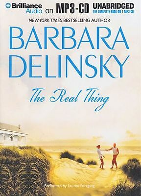 Barbara DELINSKY / The REAL THING     [ Audiobook ]