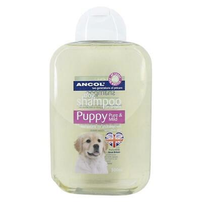 QUALITY PUPPY SHAMPOO: Ancol Pure & Mild Puppy / Dog Shampoo LARGE 500ml Bottle