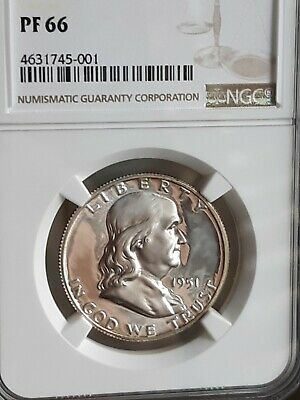 1951 Franklin Half Dollar Proof Graded By Ngc In Pf66 Quality Coin Great Eye App