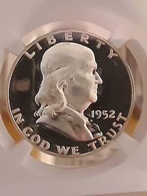 1952 Franklin Half Dollar Proof Graded By Ngc In Pf67* Star Dcam Obverse Stunner