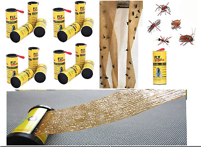 Fly Paper - Buy Rolls or Packs. Big Discounts. Insect Control. Flies Catcher.