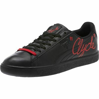 f8111db0dcf Puma Mens Clyde Signature Black Red Casual Sneaker Size 11.5 366207-01