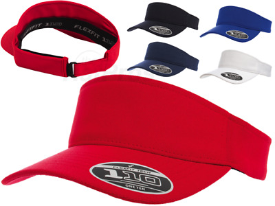 3d3787ce 8110 Flexfit® Cool and Dry One Ten Visor Adjustable OSFA Golf Hat Yupoong