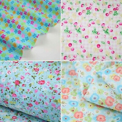 1403-004 Sweet Floral 100/% cotton fabric Low Price High Quality Sold by meter