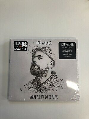 Tom Walker - What A Time To Be Alive - CD Album (Released 1st March 2019) New