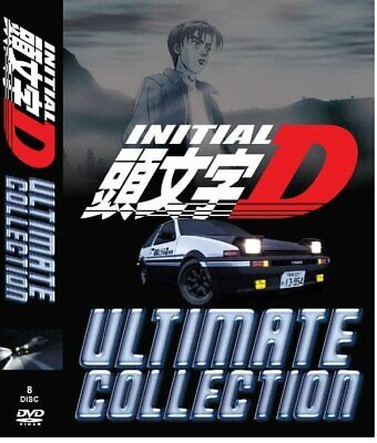 DVD Anime Initial D Ultimate Collection Stage (1-5+Battle+Extra) English Dubbed