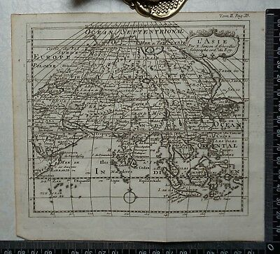 1767 – Asia / L'Asie Map by Sanson