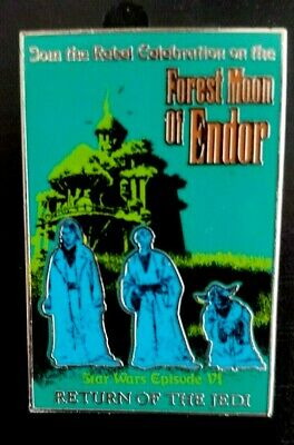 Disney Pin 114919 Star Wars Poster Forest Moon of Endor Return of the Jedi