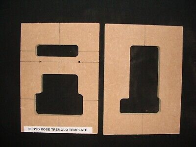 Electric guitar Floyd Rose Tremelo templates 12mm MDF
