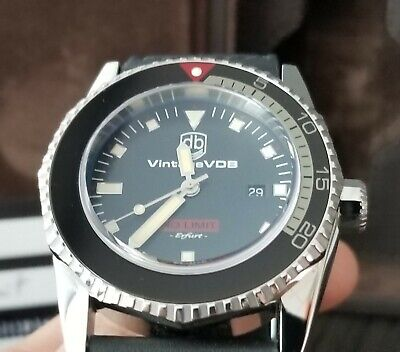 Vintage VDB No Limit Polished Steel Swiss ETA Automatic German Watch