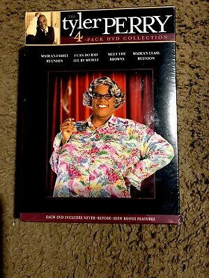 Tyler Perry Collection (DVD, 2005,4-Disc Set, Box Set) Factory Sealed Brand New!