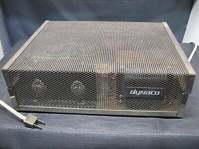 VINTAGE DYNACO STEREO 120 Power Amplifier Factory Wired All Original,  Working