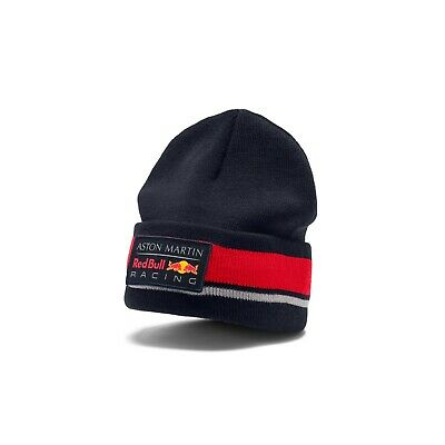Aston Martin Red Bull Racing F1 Official Adults Team Beanie - 2019