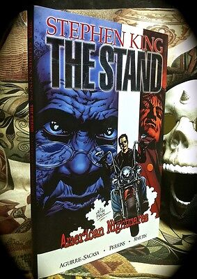 STEPHEN KING: THE STAND AMERICAN NIGHTMARES ~ MARVEL HORROR ~ 1ST PRINT HC w D/J