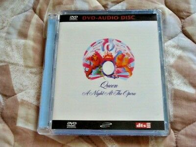"QUEEN--A NIGHT AT THE OPERA(DVD-AUDIO) DTS 96/24 BIT-""OOP""--Like New & RARE"