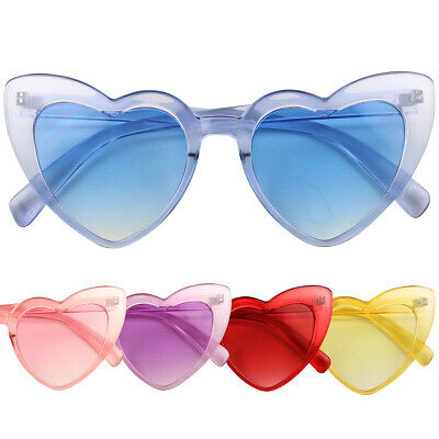 ShadyVEU Oversized Heart Shaped Candy Colorful Love High Tip Round lot Sunglass