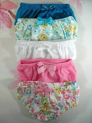 "ACCESSORIES 17"" Baby Born/Cabbage Patch doll~5x undies~ FLOWERS & PLAINS  (S)"