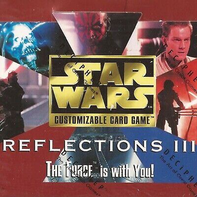 Premium Singles [choose card & condition] REFLECTIONS III star wars ccg swccg