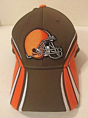 eb6256795 Cleveland Browns Stretch One Size Fits All NFL Authentic Sideline Hat