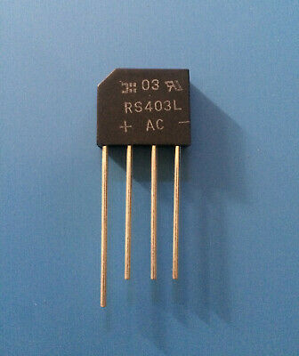 FAST SHIP 200V VARO VH247 Bridge Rectifier Diode 1 Phase 6A LOT OF 2 DIODES