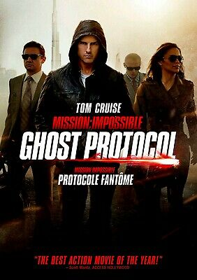 NEW DVD - Mission: Impossible - Ghost Protocol -  Michael Nyqvist, Tom Cruise,