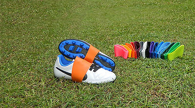 Lace Covers keep laces tied hot spot sweetspot soccer rugby afl boot bands