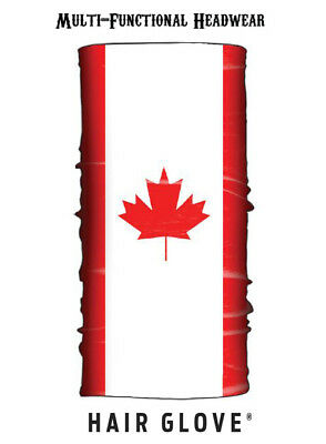 Hair Glove® Wind Resistant EZ Tube Canadian Flag 54617 Multi-Function Neck Scarf