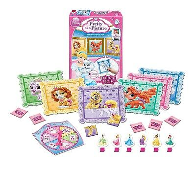 Disney Princess Palace Pets Pretty Picture Board Game Pet Puzzle Fun For Kids