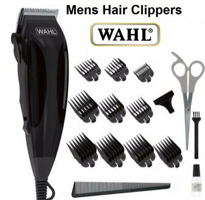 Mens Electric Hair Clippers Professional Haircut Boys Trimmer Grooming Kit