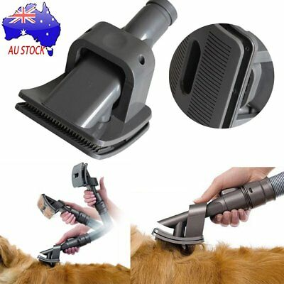 Dog Pet Cat Mascot Grooming Vacuum Cleaner Animal Dyson Groom Allergy BrushPU#