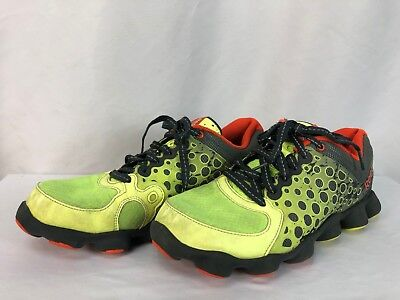 5811a519cd8 Reebok Mens Running Training Shoes Size 7 Yellow-Green Orange 023501 413