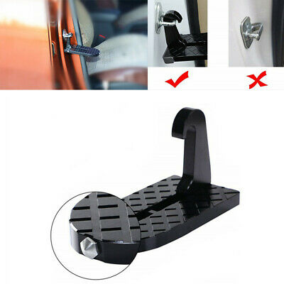 Car Access Rooftop Folding Door Ladder Hooked Foot Pegs Heavy Duty Safety Hammer