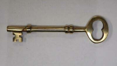 replacement brass skeleton key Tradco black french victorian lock 2011 key 2012