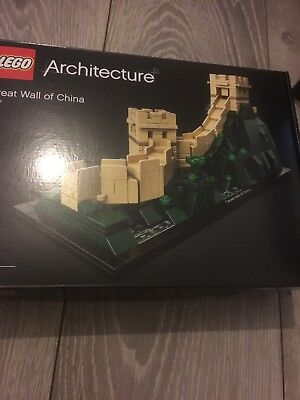 New Release 2018! 21041 LEGO Architecture Great Wall of China 551 Pieces Age 12